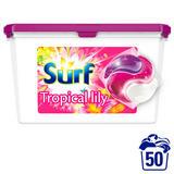 Surf Tropical Lily & Ylang-Ylang Washing Capsules 50 Washes