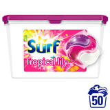 Surf Tropical Lily & Ylang-Ylang Washing Capsules 50 Washes