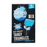 Tango Blue Raspberry Eezy Freezy  Tangy Triangles 7 Pack