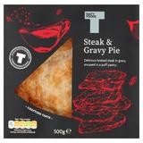 Tasty Foods Steak & Gravy Pie 500g
