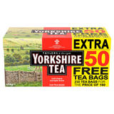 Taylors of Harrogate Yorkshire Tea 160 + 50 Free Tea Bags 656g