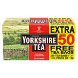 Taylors of Harrogate Yorkshire Tea 160 +50 Free Teabags 656g
