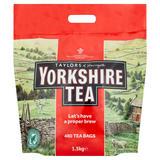 Taylors of Harrogate Yorkshire Tea 480 Tea Bags 1.5kg