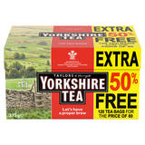 Taylors of Harrogate Yorkshire Tea 80 Teabags + 50% Free 375g