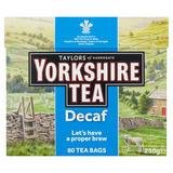 Taylors of Harrogate Yorkshire Tea Decaf 80 Tea Bags 250g