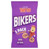 Tayto Bikers Spicy Flavour Corn Snacks 5 x 20g