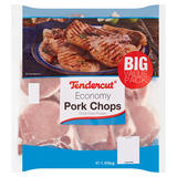 Tendercut Economy Pork Chops 1.25kg