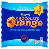 Terry's Chocolate Orange Milk Chocolate Bars 3 x 35g (105g)