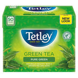 Tetley Green Tea Pure Green 50 Tea Bags 100g