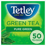 Tetley Green Tea Pure Green 50 Tea Bags 100g