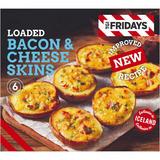 TGI Fridays 6pk Loaded Bacon and Cheese Skins 270g