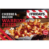 TGI Fridays Cheese and Bacon Warrior Fries 490g