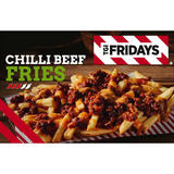TGI Fridays Chilli Beef Fries 500g