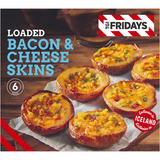 TGI Fridays Loaded Bacon & Cheese Skins 252g
