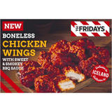 TGI Fridays Sweet and Smokey BBQ Boneless Chicken Wings 400g