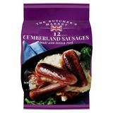 The Butcher's Market 12 Cumberland Sausages 600g