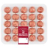 The Butcher's Market 25 Pork & Beef Meatballs 700g
