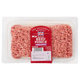 The Butcher's Market British Beef Mince Typically 23% Fat 450g