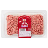 The Butcher's Market British Beef Mince Typically 23% Fat 500g