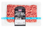 The Butcher's Market British Lean Beef Steak Mince Typically 5% Fat 400g