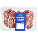 The Butcher's Market British Pork Shoulder Steaks