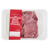 The Butcher's Market Everyday Rump Steaks 454g