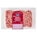 The Butcher's Market Scottish Beef Mince Typically 23% Fat 500g