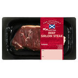 The Butcher's Market Scottish Beef Sirloin Steak 170g