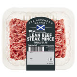 The Butcher's Market Scottish Lean Beef Steak Mince Typically 5% Fat 400g