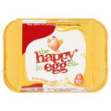 The Happy Egg Co. 6 Free Range Eggs Mixed Sizes 298g