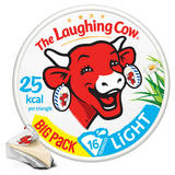 The Laughing Cow Light Cheese Spread 16 Triangles 267g