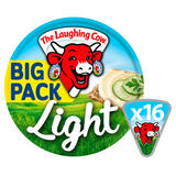 The Laughing Cow Light Spread Cheese 16 Triangles 280g