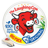 The Laughing Cow Original Cheese Spread 16 Triangles 267g