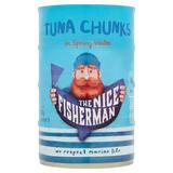 The Nice Fisherman Tuna Chunks in Spring Water 4 x 145g (580g)