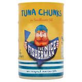 The Nice Fisherman Tuna Chunks in Sunflower Oil 4 x 145g (580g)