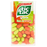 Tic Tac 100 Piece Lime & Orange Large Pack 49g