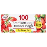 TidyZ 100 Premium Large Freezer Bags