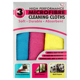 TidyZ 3 Microfibre Cleaning Cloths
