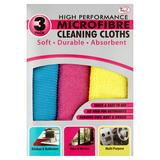 TidyZ 3 Microfibre Cleaning Cloths
