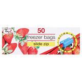 TidyZ 50 Slide Zip Freezer Bags
