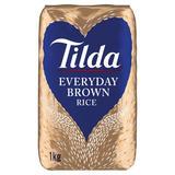 Tilda Everyday Brown Rice Wholegrain 1kg