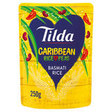 Tilda Microwave Caribbean Basmati Rice and Peas 250g