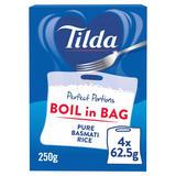 Tilda Pure Basmati Perfect Portions Boil in Bag 250g