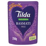 Tilda Wholegrain Basmati Rice 250g
