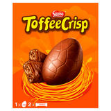 Toffee Crisp Milk Chocolate Large Easter Egg 256g