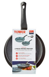 Tower 2piece Frying Pan Set