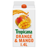 Tropicana Orange & Mango Juice 1.4L