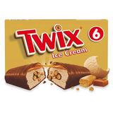 Twix Chocolate Caramel Ice Cream Bar 6 x 43ml