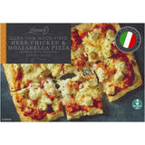 Ultra Thin Wood-Fired Herb Chicken and Mozzarella Pizza 394g