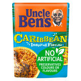 Uncle Bens Caribbean Microwave Rice 250g